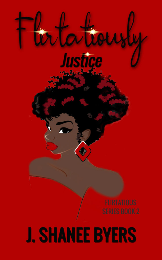 Cover Art for Justice by J. Shanee Byers