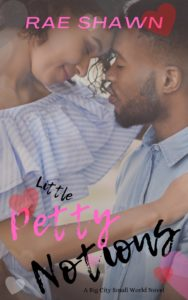 Cover Art for Little Petty Notions by Rae Shawn