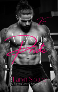 Cover Art for A Lyons'Pride by Taryn Sloane