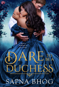 Cover Art for Dare to be a Duchess by Sapna  Bhog