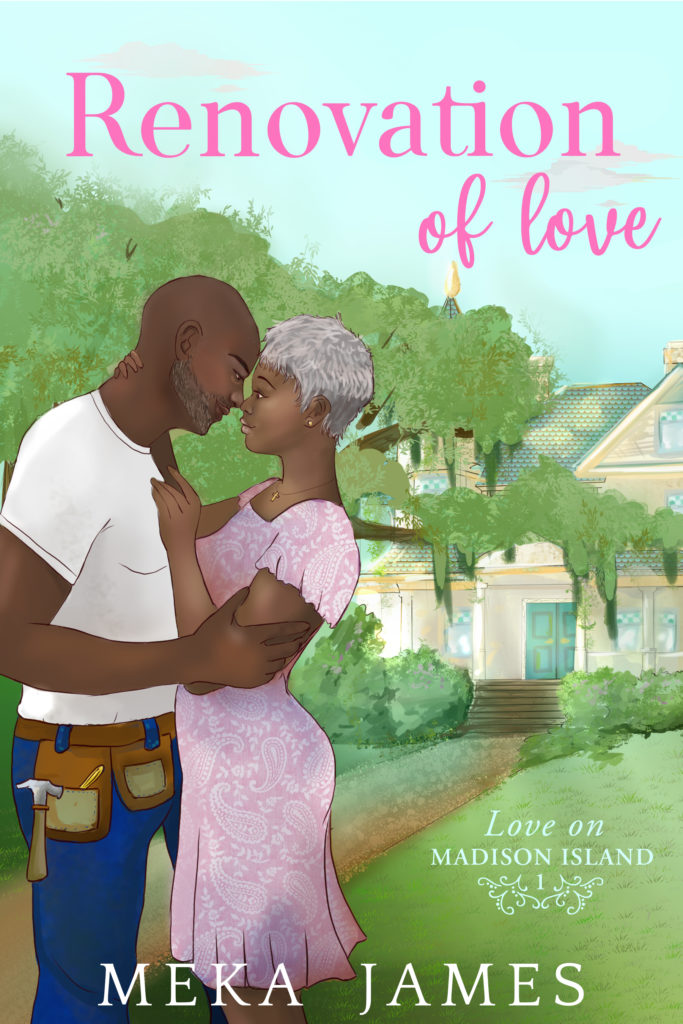 Cover Art for Renovation of Love by Meka James