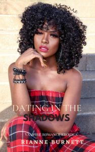 Cover Art for Dating in the Shadows by Rianne Burnett