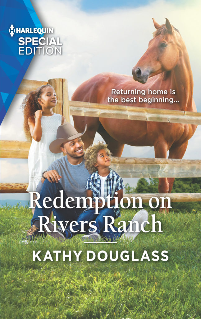 Cover Art for Redemption on Rivers Ranch by Kathy Douglass