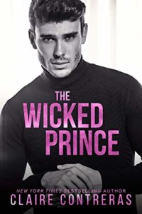 Cover Art for The Wicked Prince by Claire Contreras