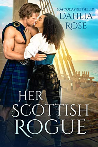 Cover Art for Her Scottish Rogue by Dahlia Rose