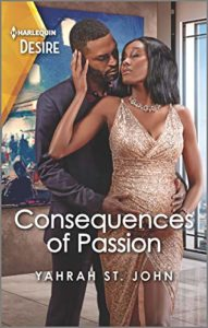 Cover Art for Consequences of Passion by Yahrah St. John