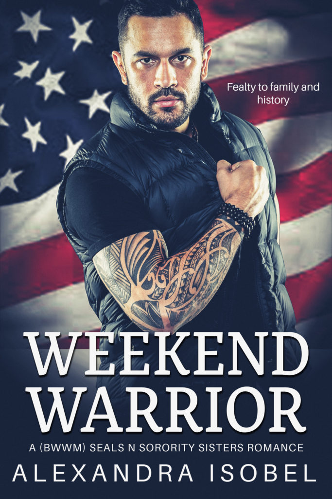 Cover Art for Weekend Warrior by Alexandra Isobel