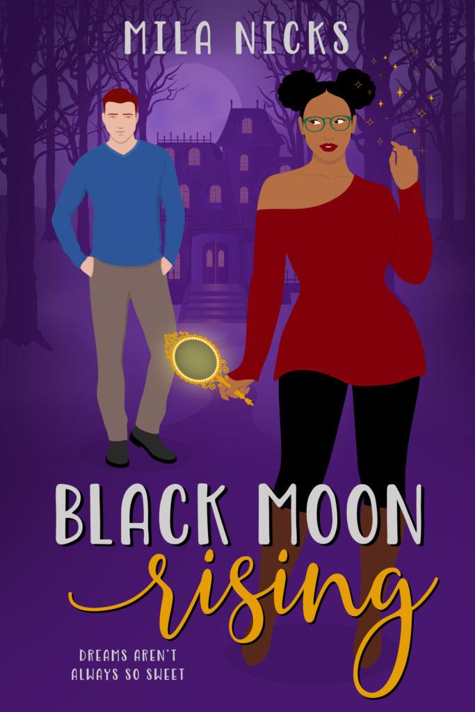 Cover Art for Black Moon Rising by Mila Nicks