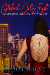 Cover Art for Global City Tryst by Maida Malby