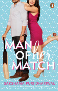 Cover Art for Man of Her Match by Sakshama Puri Dhariwal