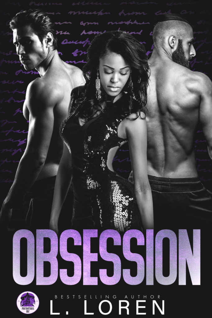Cover Art for Obsession by L. Loren