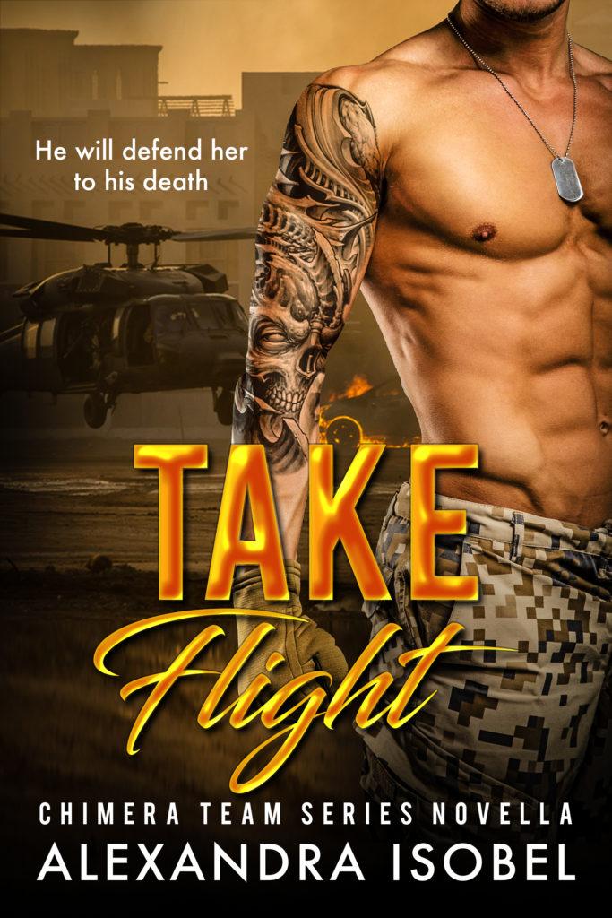 Cover Art for Take Flight by Alexandra Isobel