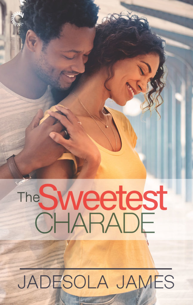 Cover Art for THE SWEETEST CHARADE by Jadesola James