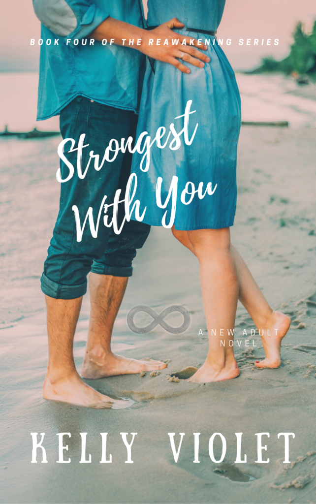 Cover Art for Strongest With You by Kelly Violet