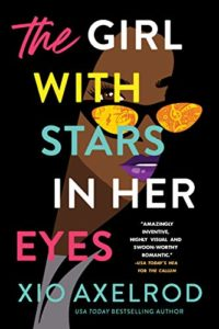 Cover Art for The Girl with Stars in Her Eyes by Xio Axelrod