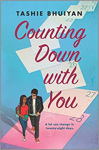 Cover Art for Counting Down with You by Tashie Bhuiyan
