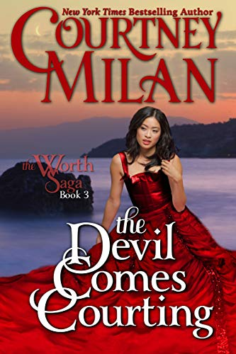 Cover Art for The Devil Comes Courting by Courtney Milan