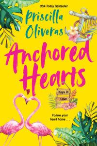 Cover Art for Anchored Hearts by Priscilla Oliveras