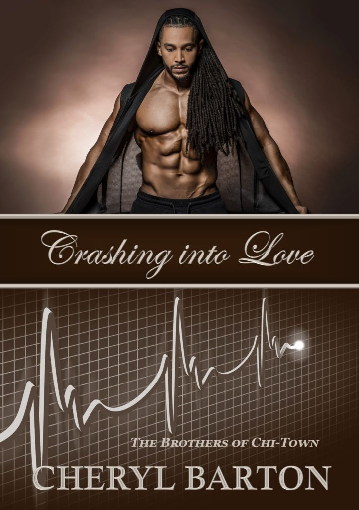 Cover Art for Crashing into Love by Cheryl Barton