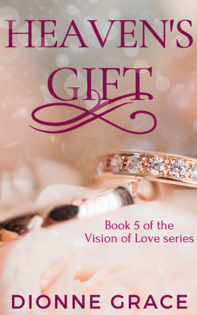 Cover Art for Heaven's Gift by Dionne Grace