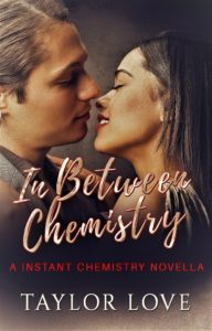 Cover Art for In Between Chemistry by Taylor Love