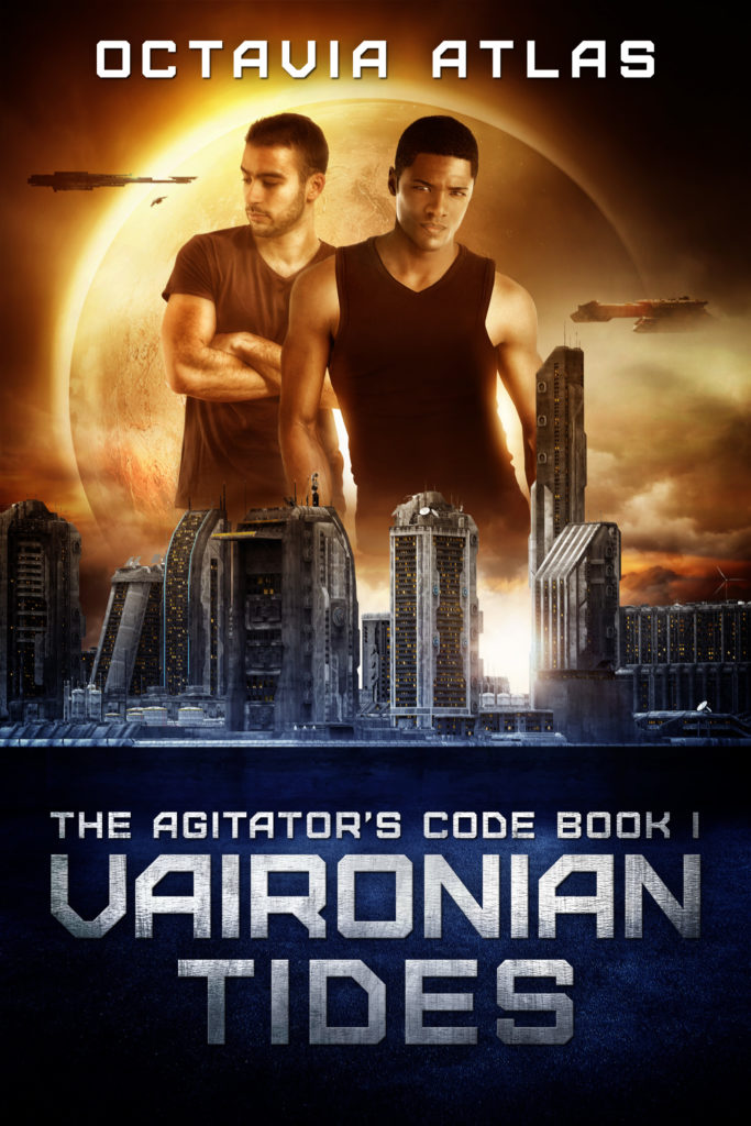 Cover Art for Vaironian Tides by Octavia Atlas