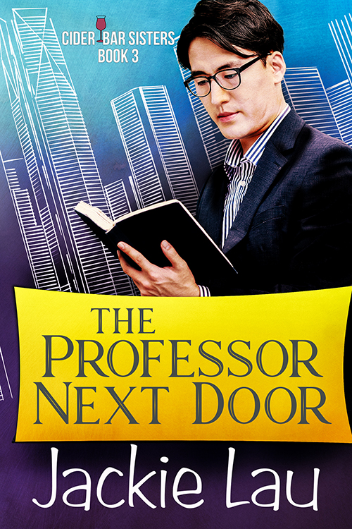 Cover Art for The Professor Next Door by Jackie Lau