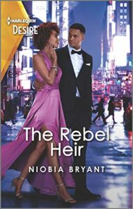 Cover Art for The Rebel Heir by Niobia Bryant