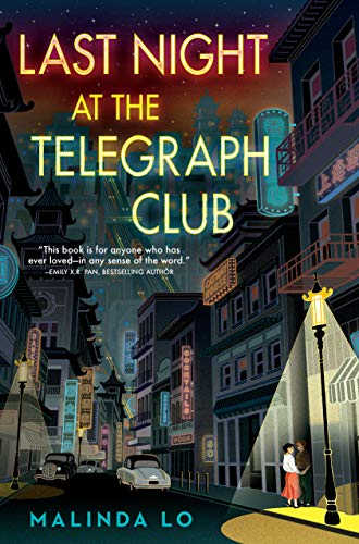 Cover Art for Last Night at the Telegraph Club by Malinda Lo