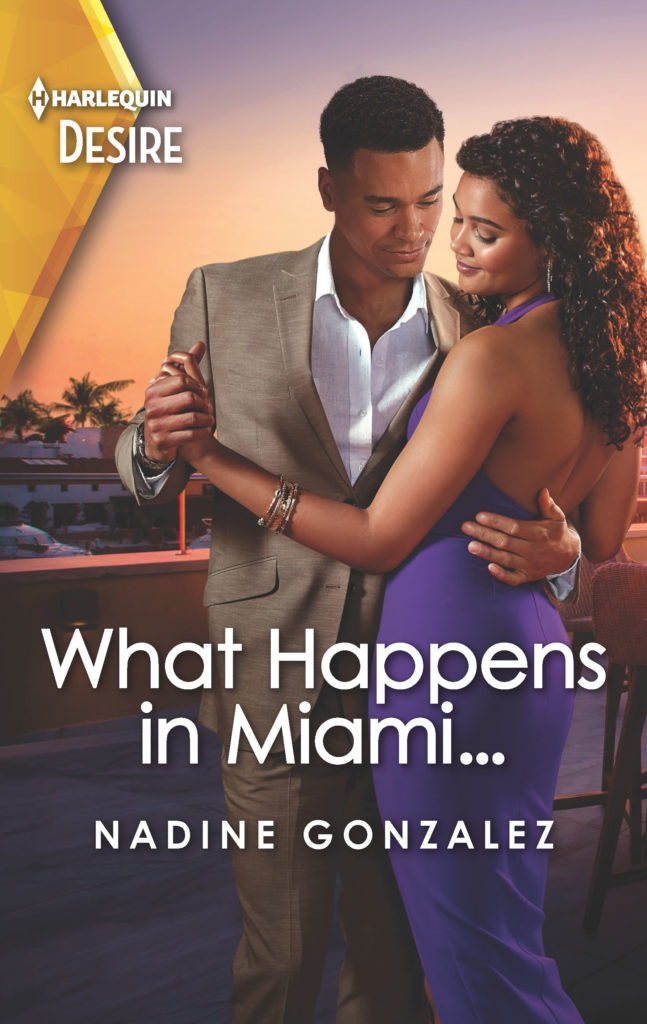 Cover Art for What Happens in Miami by Nadine  Gonzalez
