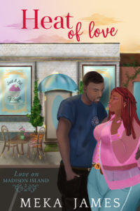 Cover Art for Heat of Love by Meka James