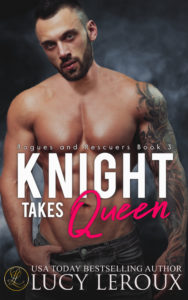Cover Art for Knight Takes Queen by Lucy Leroux