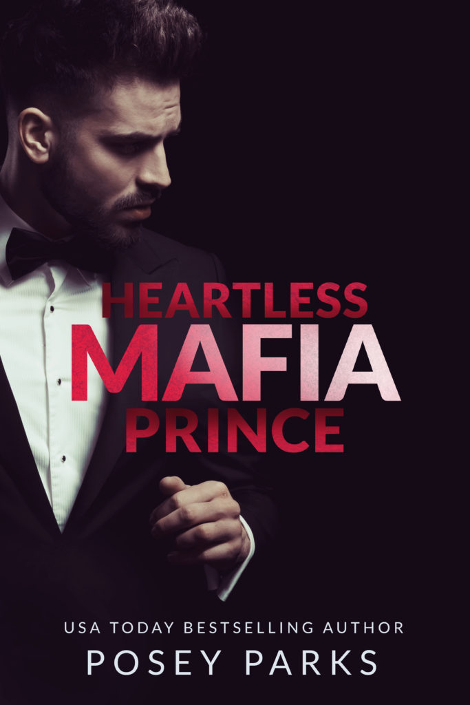 Cover Art for Heartless Mafia Prince by Posey Parks