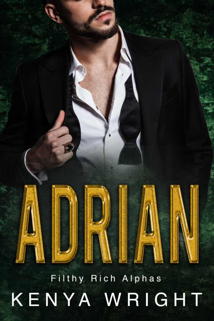 Cover Art for Adrian by Kenya Wright