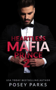 Cover Art for Heartless Mafia Prince 2 by Posey  Parks