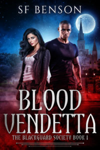 Cover Art for Blood Vendetta: the BlackGuard Society, Book 1 by SF Benson