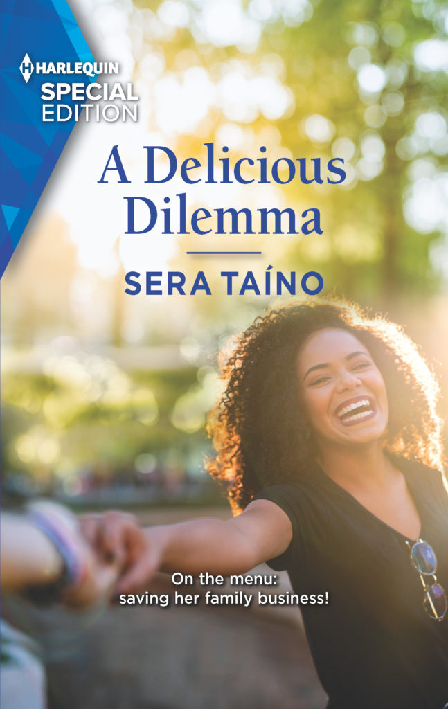 Cover Art for A Delicious Dilemma by Sera Taíno