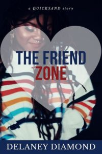 Cover Art for The Friend Zone by Delaney Diamond
